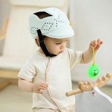Детский защитный шлем, мягкая защитная шапка для малышей, для прогулок, для мальчиков, с защитой от ударов, угловая Защитная крышка