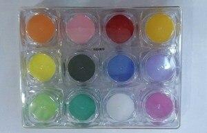 Image 3 - 120 색상 아크릴 네일 파우더 kg 아크릴 파우더 UV 네일 아트 폴리머 빌더 새로운 2020 조각 패턴 장식 파우더