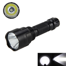 5000Lm XML T6 LED Torch Tactical Flashlight Shotgun/Rifle Picatinny Weaver Mount for Hunting+18650 Battery+ Charger 5000lm torch light xml t6 led military hunting flashlight 18650 battery remote pressure switch charger