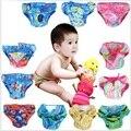 2016 verão bebê nadar fraldas para bebés recém-nascidos fraldas reutilizáveis à prova d' água saco de fraldas infantil bebe meninas swimwear 2 camadas meninos maiô