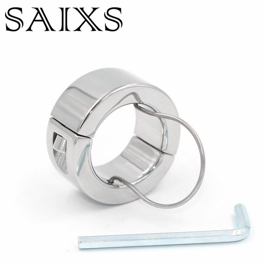 stainless steel teardrop cock ring