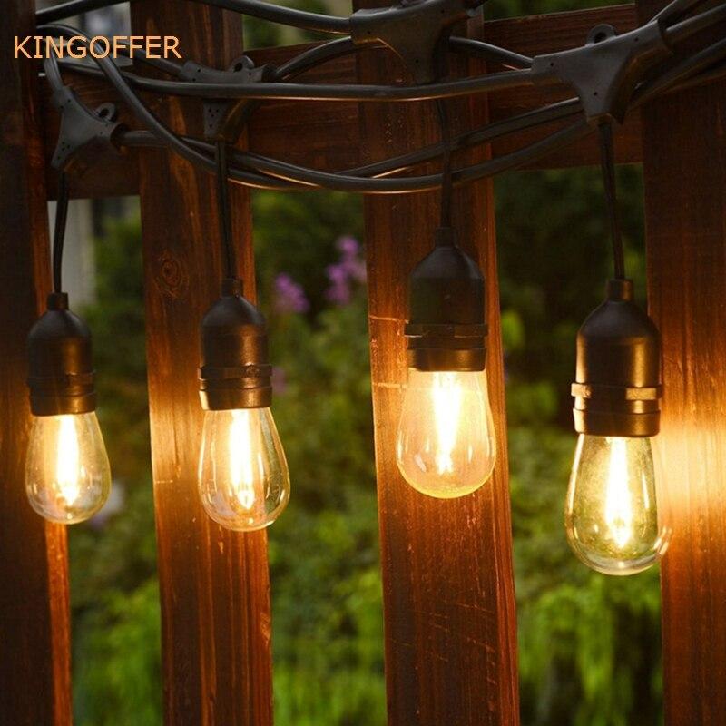 Outdoor String Lights B M: Indoor/Outdoor Waterproof 10M 10LED Commercial Grade