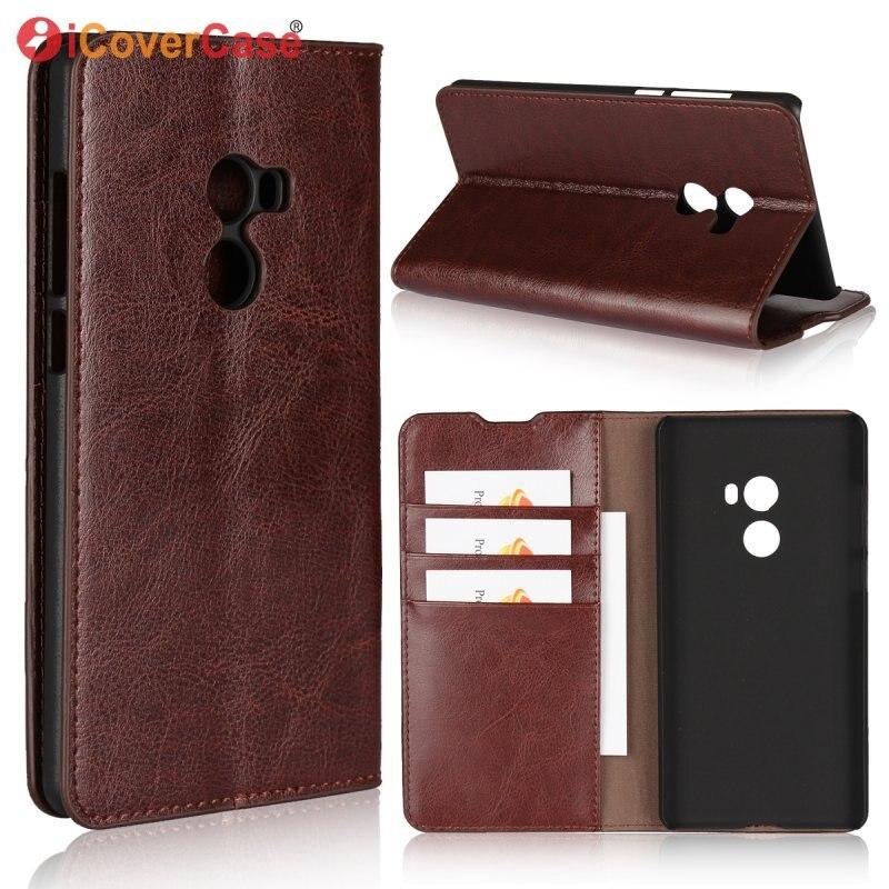 Genuine Leather Case For Xiaomi Mi Mix 2 Wallet Phone Case For Fundas Xiaomi Mi Mix2 Flip Cases Cover Coque Luxury Capinha Etui