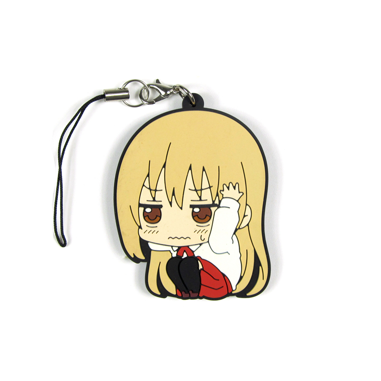 Himouto Umaru chan Rubber pendant Doma Umaru Nanan ebina anime Action Toy Figures Mobile Phone Accessories strap Keychain in Action Toy Figures from Toys Hobbies