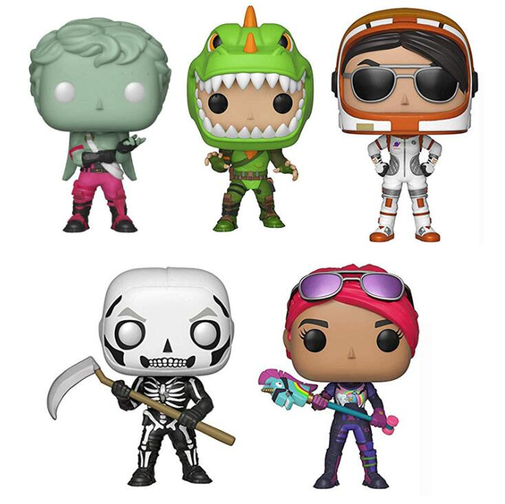 FUNKO POP Fortnight TROOPER Action Figures Boy Toy Vinyl Dolls Collection Model Game Battle Rayle Toys For Children