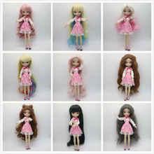 BB девушка кукла парик подходит для 40 см BJD кукла-5