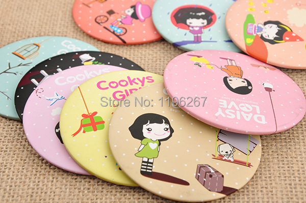 10PCS Cartoon Girl Mirror Baby Shower Return Gifts Favors Birthday Party  Souvenirs Event Party Supplies