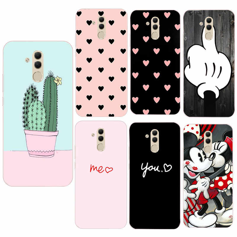 Silicone TPU Case For Huawei Y6 2018 Cover Phone Case For Huawei Y6 Prime 2018 P smart 2019 Mate 20 P30 P20 Lite Pro Case Cover