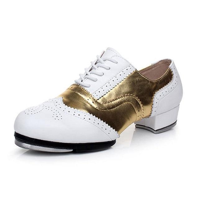 9cb217ce0d Homens Do Vintage sapatos de sapateado Sapatos de Dança tênis De Dança  sapatos de dança ao
