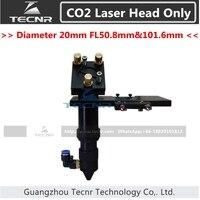 CO2 laser head set integrative focus lens and 25MM Dia laser mirror mount 50.8MM FL