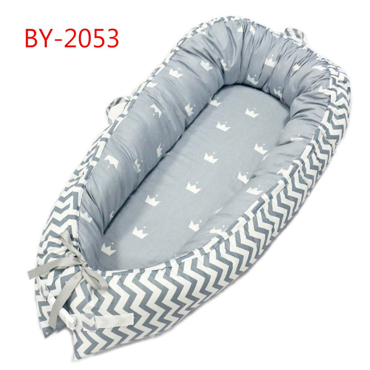 Dismountable Baby Crib Nursery Portable Infant Toddler Cradle Multifunction Newborn Bumper Sleeping Bag For Baby Care 50*80cm