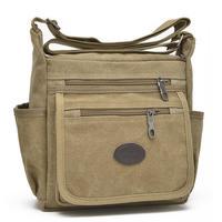 Korean Version Versatile Man Canvas Bag Casual Handbags Shoulder Bag men Messenger Bag Men and Women Messenger Bags