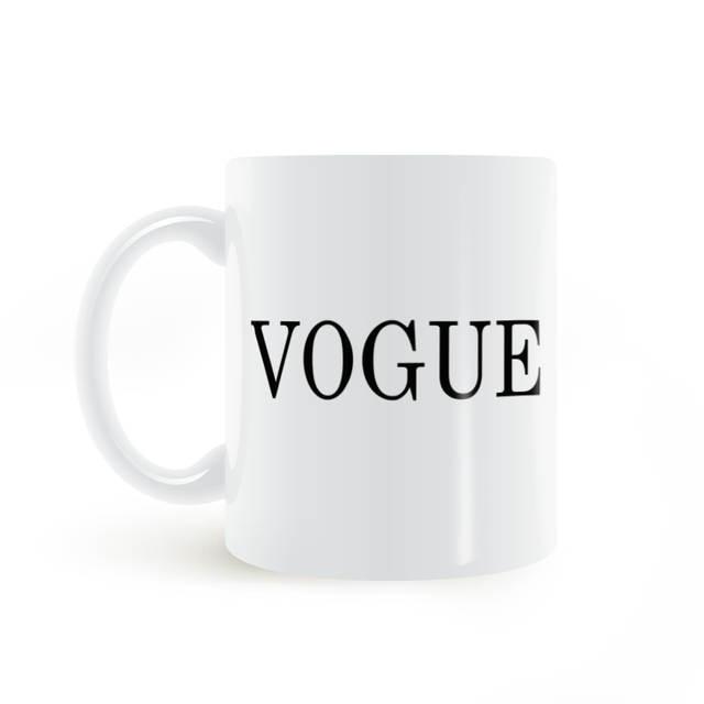 Placeholder Harajuku Tumblr Vogue Letter Printed Mug Coffee Milk Ceramic Creative Diy Gifts Home Decor Mugs Oz