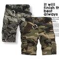 Супер предложения купить шорты мужские шорты-бермуды камуфляж / камо военных / армии шорты короткие штаны