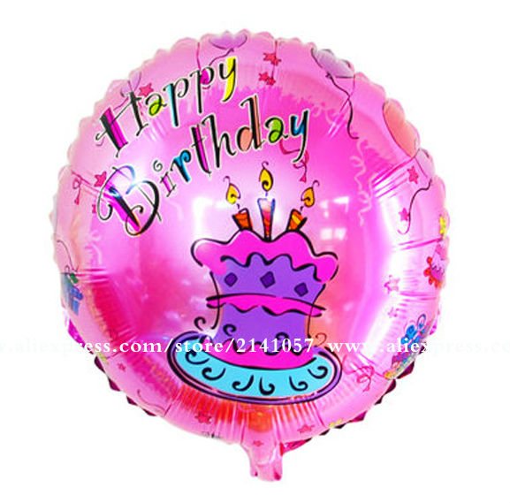 10pcs/lot Happy Birthday Balloons for Baby Birthday Ballons Big Foil Balloon for