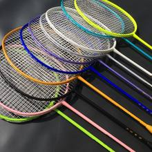1 PC ZARSIA Good Control Badminton racket Training Badminton Racket quality carbon racket 4U 82g(China)