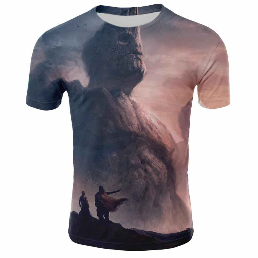 Летняя футболка с коротким рукавом для мужчин, Грут, Мстители, 3D принт, уличная модная футболка, повседневные топы, Забавные футболки
