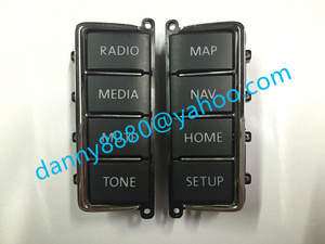 Free shipping VW CD PLAYER Panel Plastic Button for VW RNS510 Skoda Columbus RNS510 sat nav navigation audio systems(China)