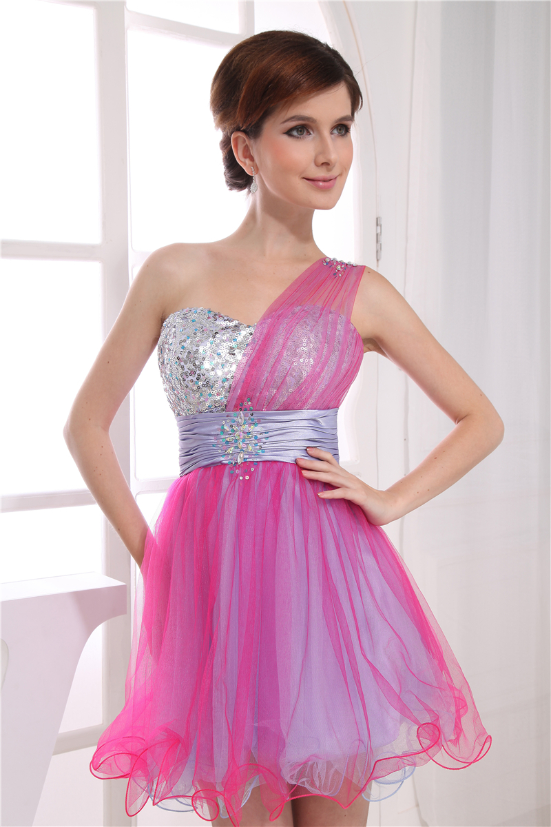 High School / University Mini Cocktail Dress Party Prom Dresses One ...