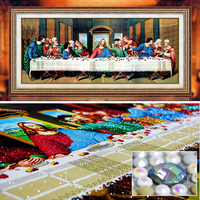 Special Shaped Diamond Painting Last Supper Cross Stitch Embroidery Kits 5d 3d Wall Stickers Rubiks Cube
