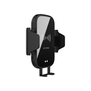Image 3 - Bezprzewodowa ładowarka samochodowa 10W Qi automatyczna do xiaomi 9 Max Samsung S8 szybka ładowarka na podczerwień Air Vent uchwyt samochodowy do telefonu