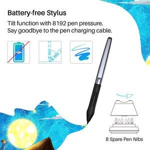 Image 3 - HUION HS610 Grafiken Zeichnung Tabletten Digitale Batterie Freies Stift Tablet Android Telefon Tablet mit Tilt OTG für Windows Mac OS
