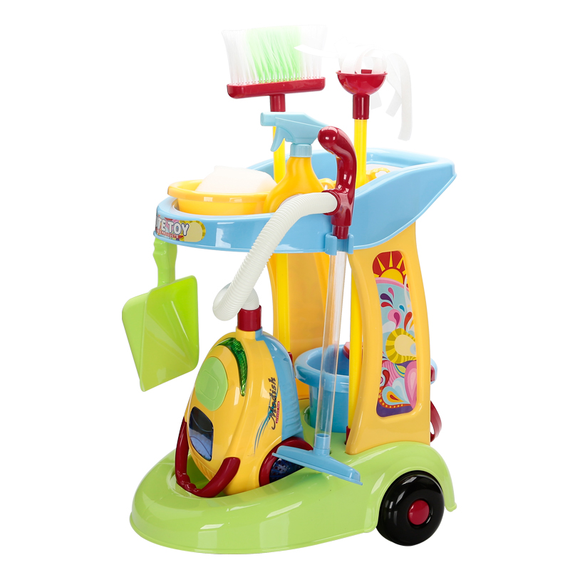 Children S Play House Cleaning Cleaning Carts Toy