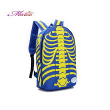 School students shoulder bag large skeleton bag fashion trend backpack wholesale men backpacks sac a main femme de marque