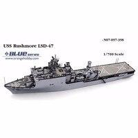 Ohs оранжевый хобби n07097398 1/700 USS Рашмор lsd47 сборки Весы Военная Униформа корабль Конструкторы о