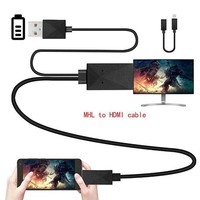 5Pin 11Pin Cable MHL Micro USB To HDMI 1080P HD TV For Samsung S8 Android Adapter