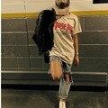 2017 летом Назначения Тур Футболка Мужчины/Женщины Моя Мама Не Люблю Тебя Письмо Печатный Топы Тройник Хип-Хоп уличная