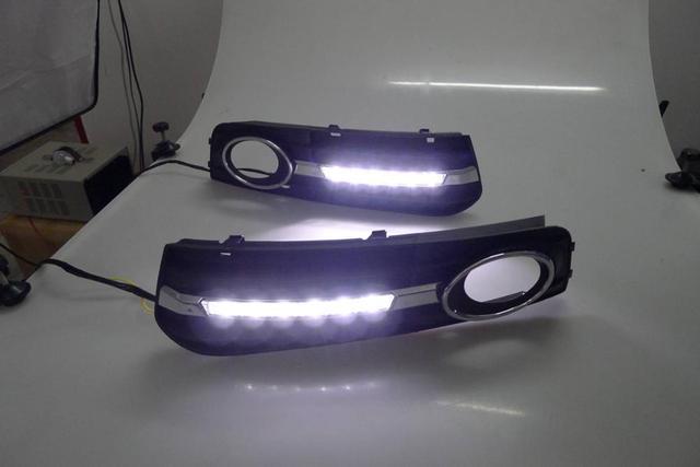 D_YL phares de jour led | led pour Audi A4 B8 berline Avant 2009-2012, phares led antibrouillard, stylin de voiture