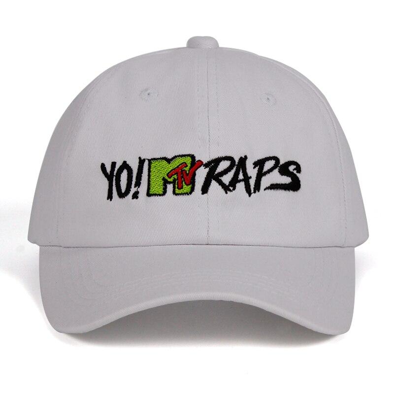100% algodón 2018 YO! Gorra de béisbol MTV RAPS casquette de marca ... caf1ab471d7