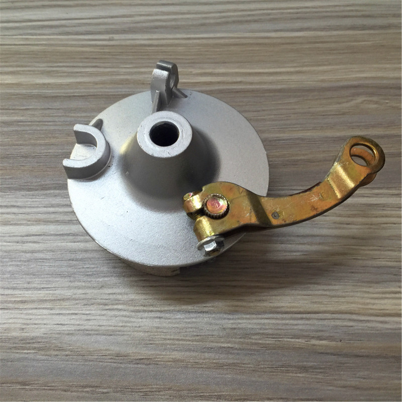 STARPAD Front electric <font><b>car</b></font> front <font><b>wheel</b></font> brake block brake <font><b>drum</b></font> assembly electric tricycle high quality wholesale,Free shipping image