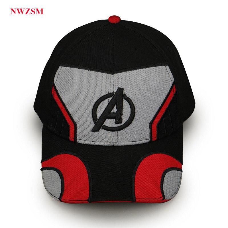 Avengers Endgame Baseball Cap Embroidery Unisex Advanced Tech Cosplay Movie Hat