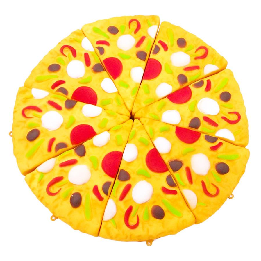 11cm Mini Yummy Pizza Squishy Slow Rising Cream Scented Charm Stress Reliever Toys Gift Release Pressure  5.1