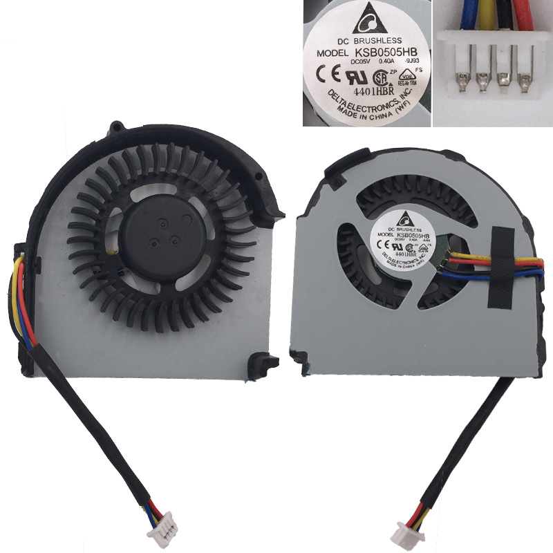 New Laptop Cooling Fan For Lenovo thinkpad X220 4 pins PN KSB0405HA 23 10681 001 60 4KH17 001 B01 CPU Cooler Radiator in Fans Cooling from Computer Office