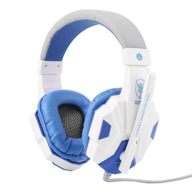 3.5mm Surround Stereo Gaming Headset Headband Headphone with Mic for PC 4