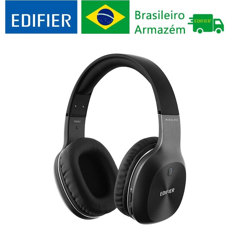 Edifier w800bt estéreo bluetooth fone de ouvido sem fio fone música computador redução ruído alta fidelidade chamada