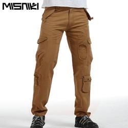 Misniki Горячая Тактический Брюки для девочек Для мужчин хлопок Военная Униформа Повседневное брюки-карго Для мужчин S Брюки для девочек Pantalon