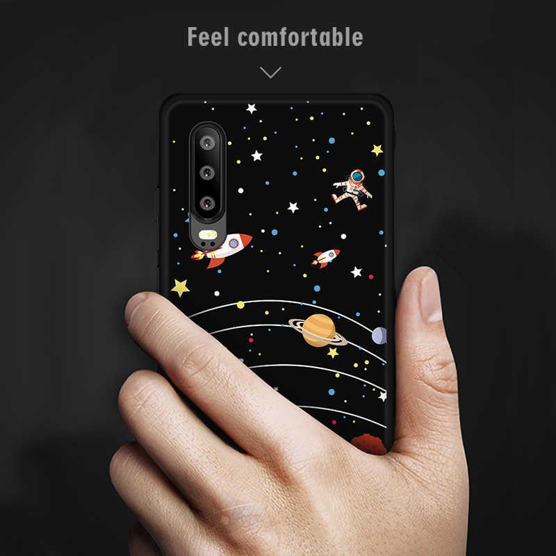 لطيف نمط لينة TPU حافظة لهاتف Huawei P30 لايت برو غطاء كوكه لهواوي الشرف 10 9 لايت V20 8X ماكس ماجيك 2 حالة Fundas غطاء