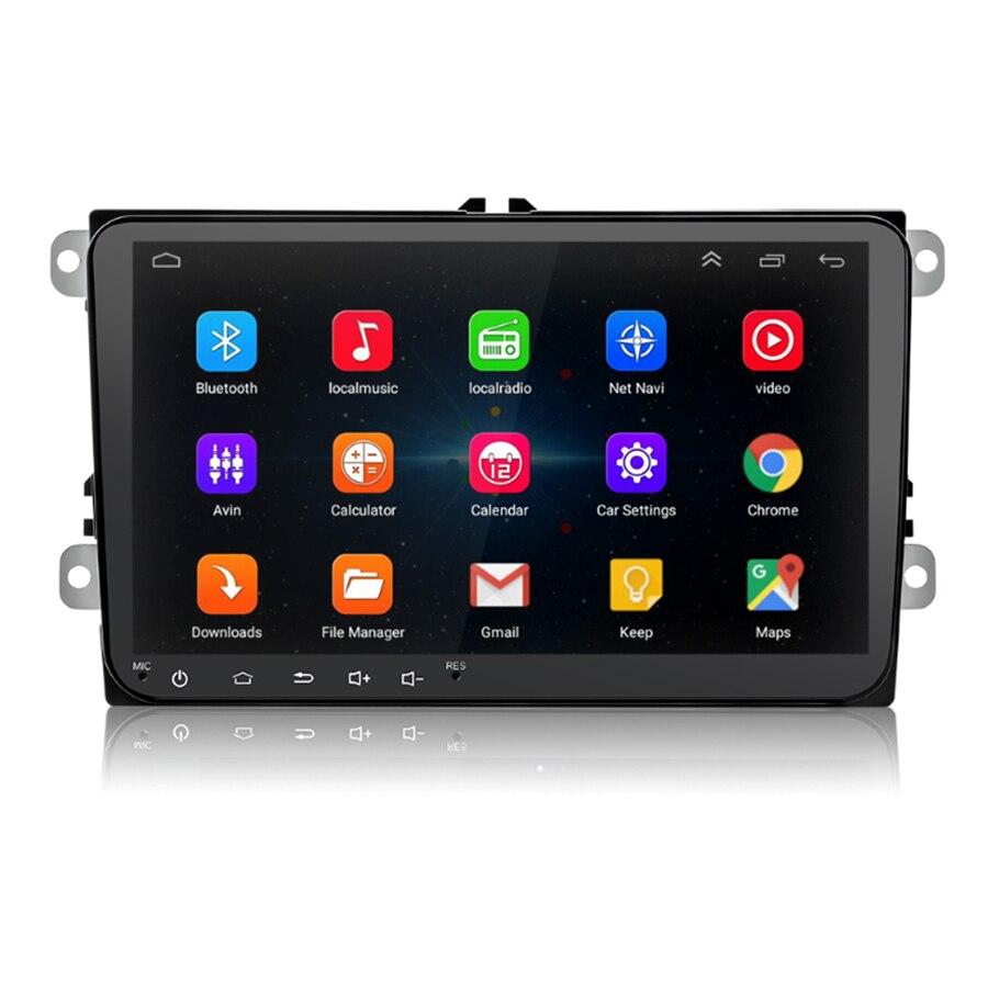 9 1080P 1+16GB Android 8.1 GPS Navigation 2 Din Auto radio Wifi BT DAB Mirror Link Car Stereo Radio