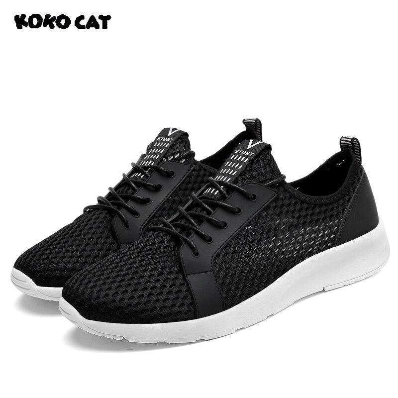 KOKOCAT 2018 Mens Summer Casual Canvas Sneaker Shoes Ultralight Flattie Breathable Shoes  Fashion Sports Shoes Ventilate Shoes
