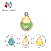 water drop Alloy Material Handmade Charms Earrings necklaces Accessories DIY Jewelry Making Enamel Jewelry findings 10pcs/lot new 50pcs lot gold silver color water drop shaped copper accessories connectors for diy handmade jewelry earring making findings