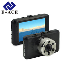 E-ACE Novatek Camcorder 3.0 Inch Car Dvr Mirror Car Camera Full HD 1080 P Dash Cam Automotive Recorder Video Registrator Car Cam