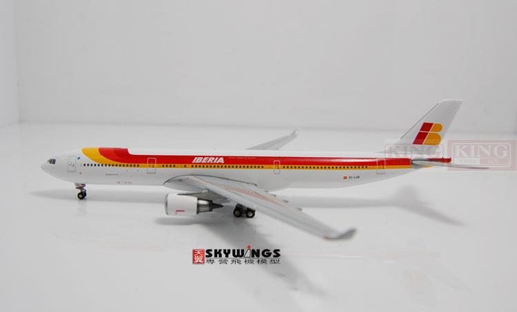 GJIBE1275 GeminiJets Spain A330-300 1:400 commercial jetliners plane model hobby gjiss1512 meridiana md 80 i smet 1 400 geminijets commercial jetliners plane model hobby