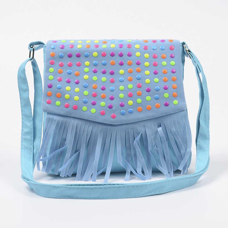 ... Children tassel handbags girls small shoulder bag kids messenger bags  mini bag Coin Purses Toddler Wallet