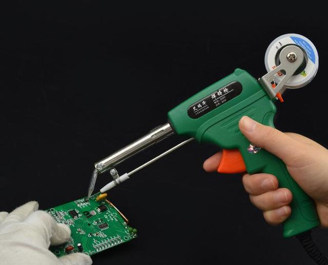 Ergonomisches design von qualität kunststoff shell power solder gun ...