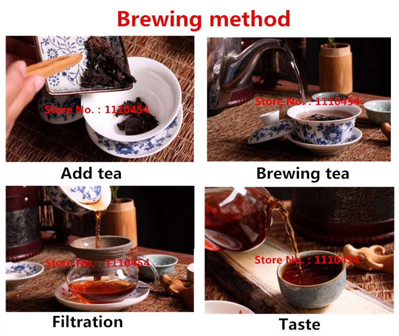 C-PE012 Yunnan pu erh tea puer ripe organic pu er tea cooked ripe Pu'er tea 330g factory direct NO additives green food