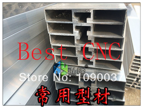 ФОТО aluminum T-slot table  wall thickness1.8mm width 10cm for cnc router